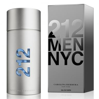 foto CAROLINA HERRERA 212 MEN NYC EDT MASC 200ML